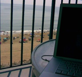 Virtues of going Virtual: Working whilst on Holiday