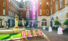 BMA House Courtyard Summer Party 1