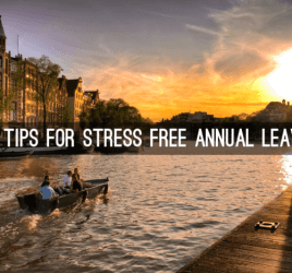 Stress free annual leave
