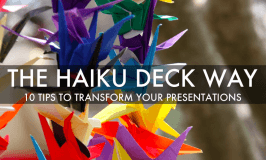 Technology of the week - Haiku Deck