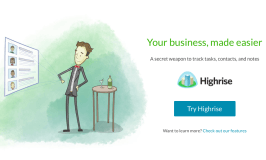 Technology of the week: Highrise