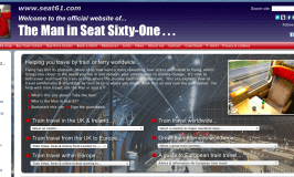 Technology of the week: The Man in Seat Sixty-One
