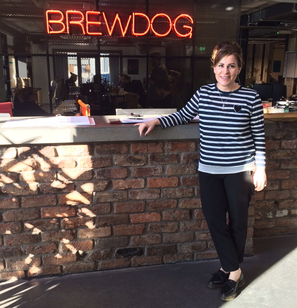 A day in the life: Bethany Burns, First Mate to the Captain at Brewdog