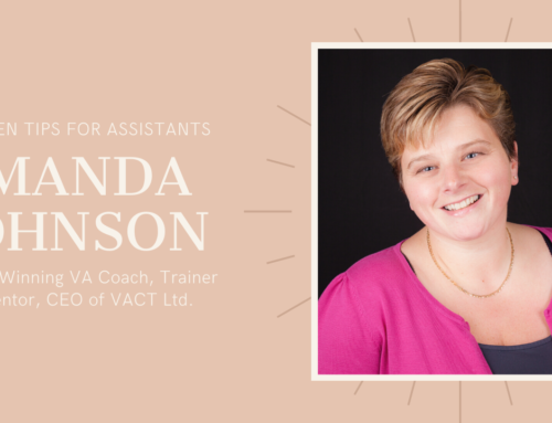 Tips and Techniques for Assistants – Amanda Johnson